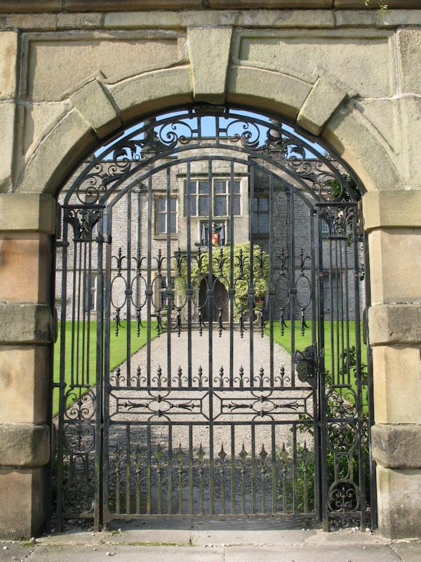 Tissington Hall gate