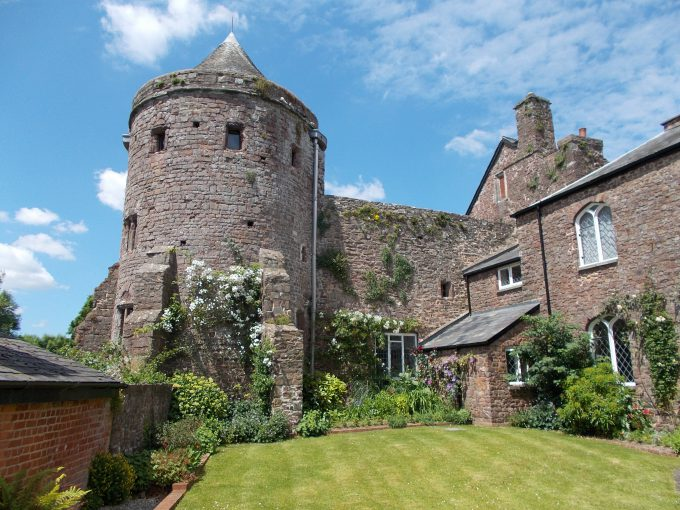 Tiverton Castle in Devon