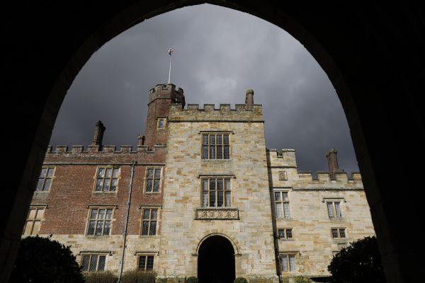 Tower through gateway Penshurst