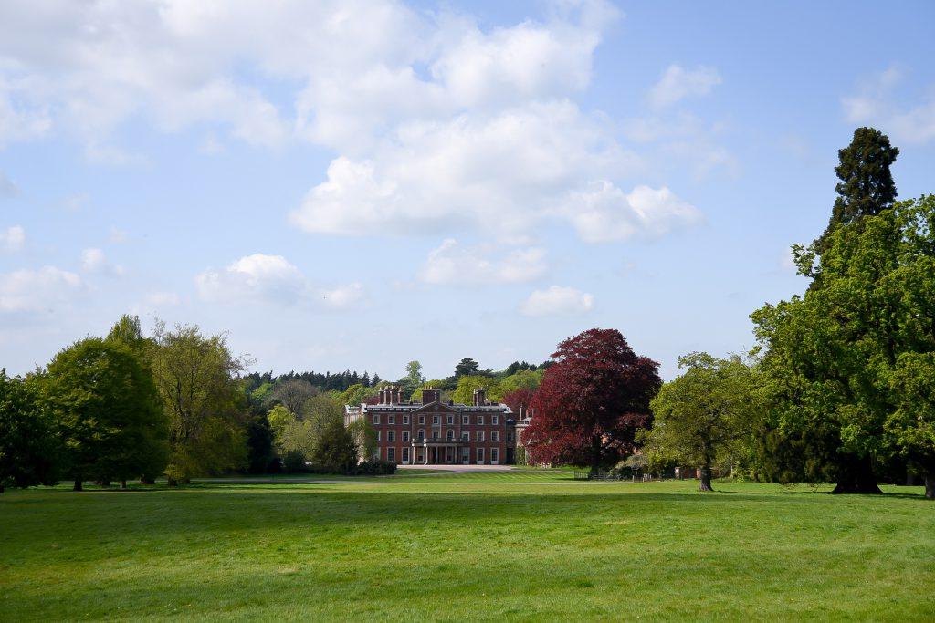 Weston Park in Shropshire