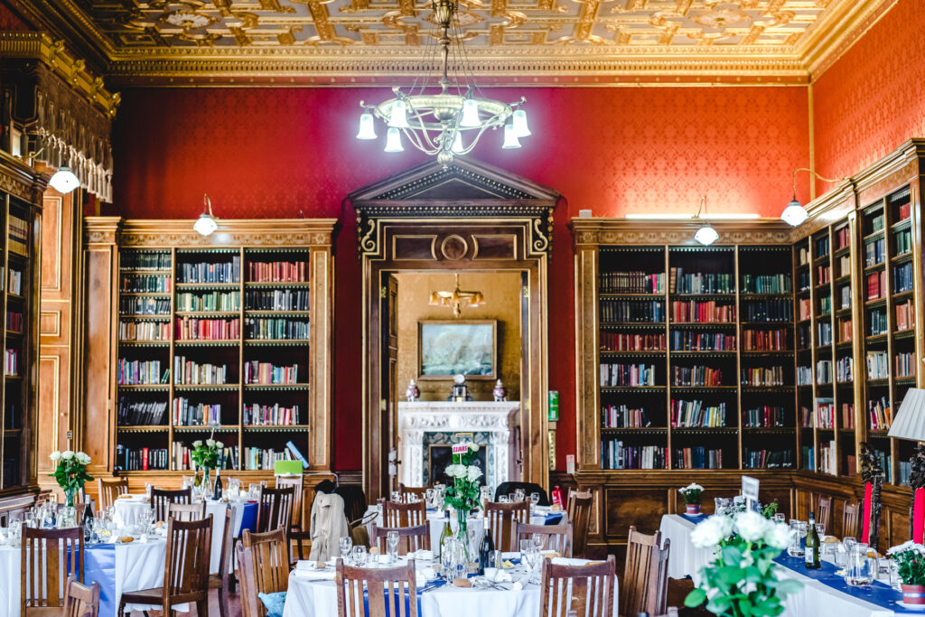 Westonbirt House Library