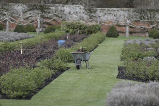 Wheelbarrow garden Penshurst