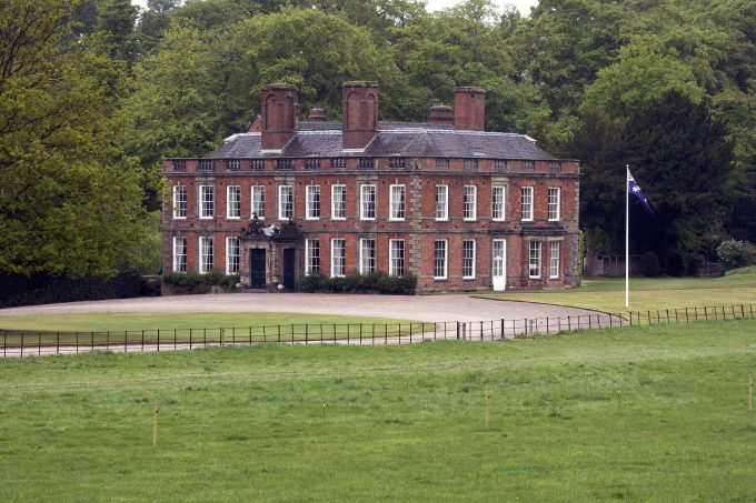 Whitmore Hall in Staffordshire