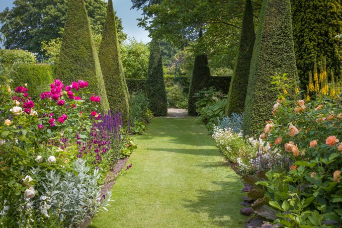 Wollerton Old Hall Garden in Shropshire