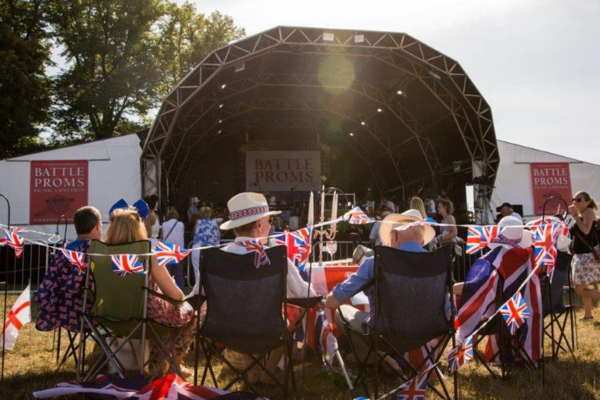 Battle of the Proms at Blenheim