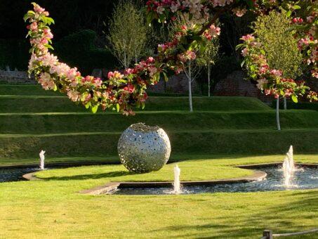 Blossom at Riverhill Garden