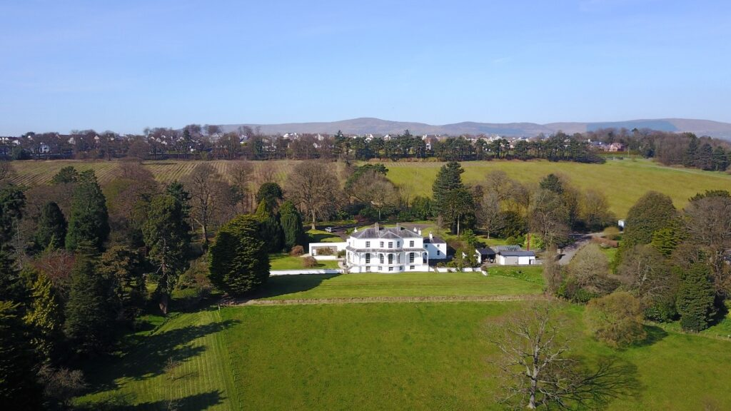 Brook Hall 18 Century Georgian Regency Villa
