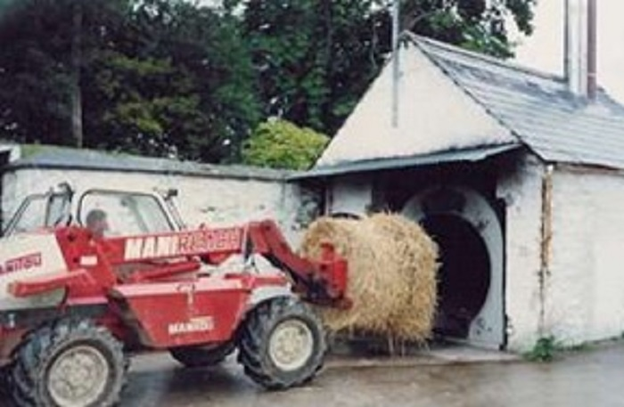 Brook Hall biomass boiler installed in 1988