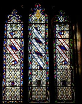Chenies Manor House stained glass 2