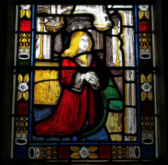 Chenies Manor House stained glass 3