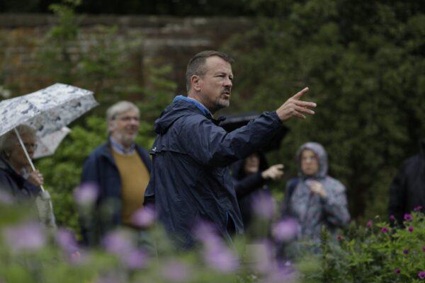 Garden tour at Middleton Hall