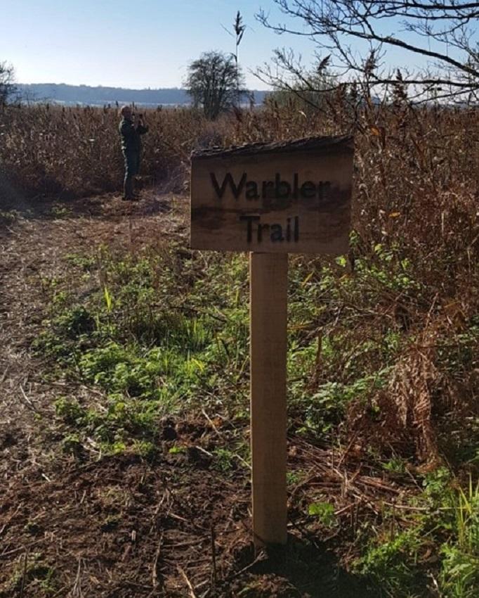 Holkham Hall bird trail