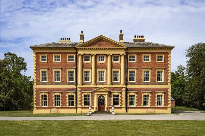 Lytham Hall front of the historic house