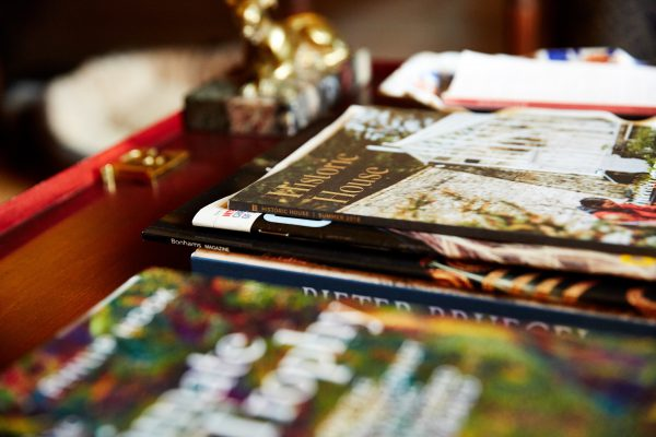 Historic House Magazine on coffee table