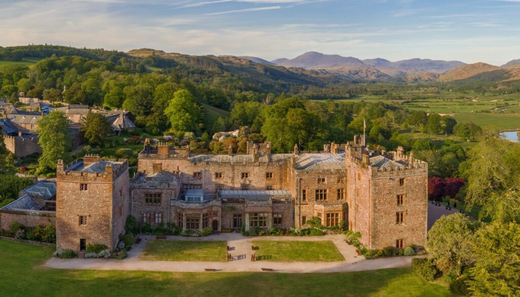 Muncaster Castle in Cumbria