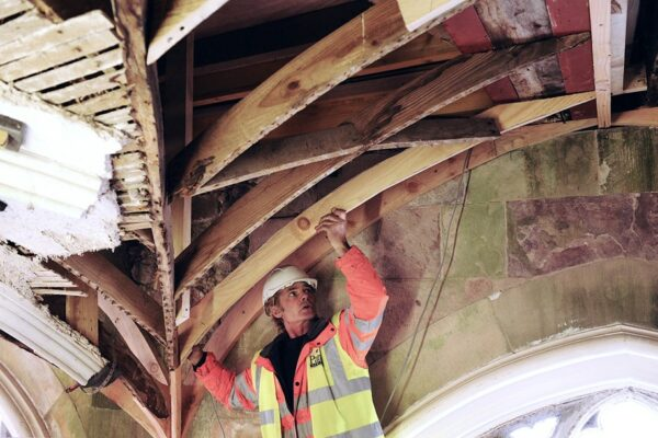Repairing and restoring an historic roof