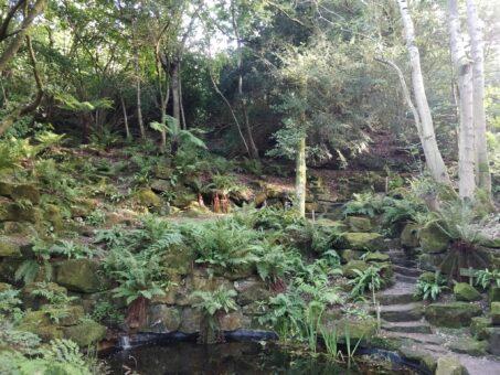 Rock Garden at Riverhill Garden