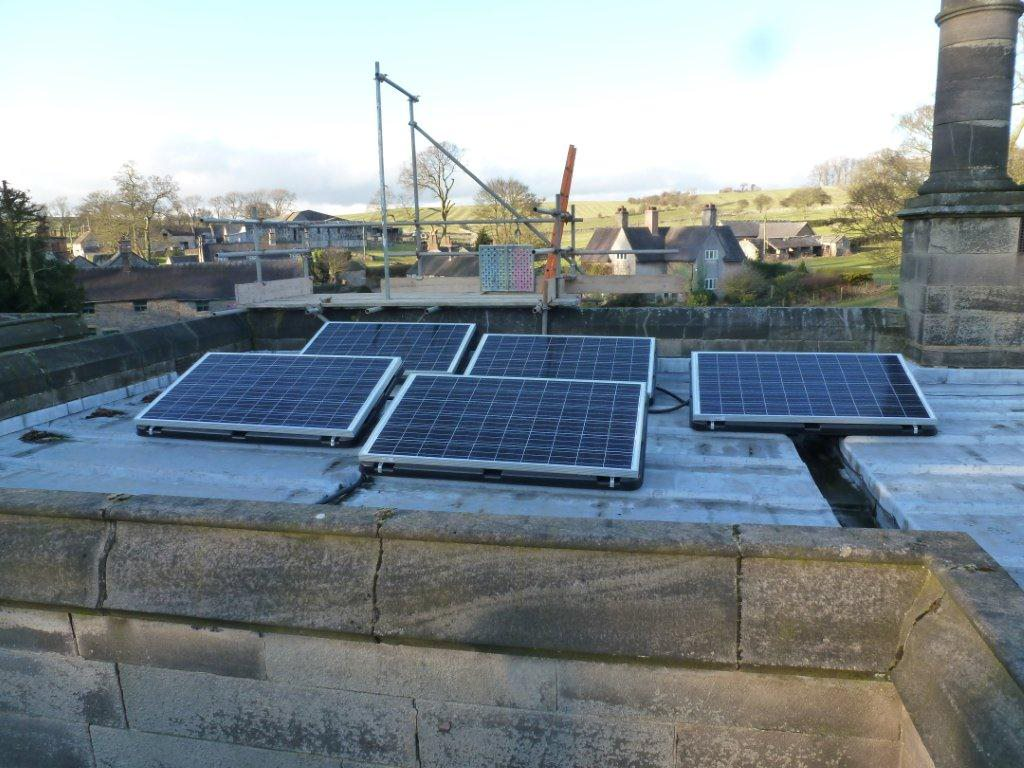 Tissington Hall solar panels
