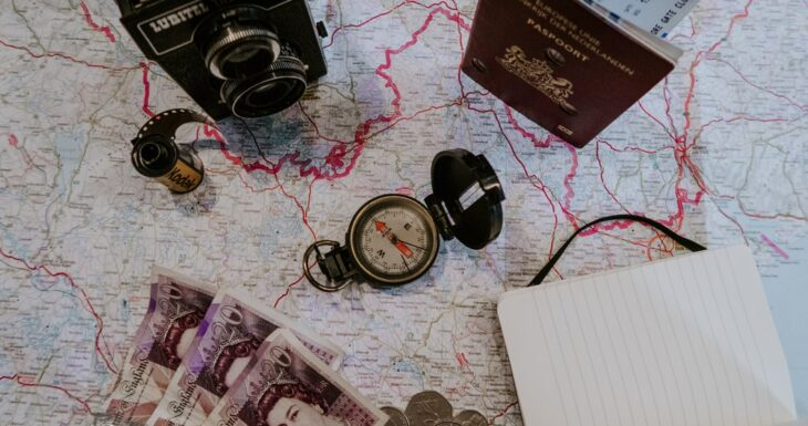 Travelling maps