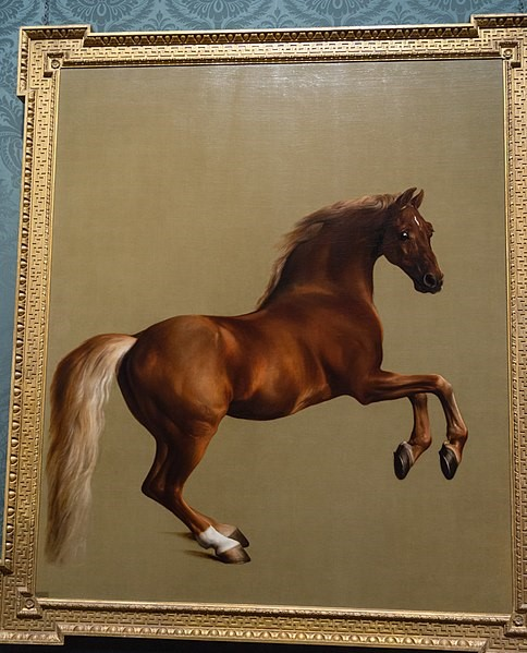 Wentworth Woodhouse painting after George Stubbs Whistlejacket