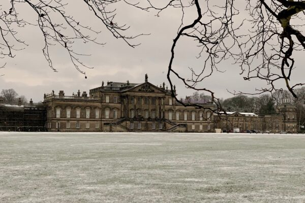 Wentworth Woodhouse Frosty East Front