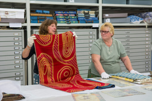 Warner Textile Archive demonstration