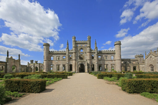 Lowther Castle Parterre and South Facade