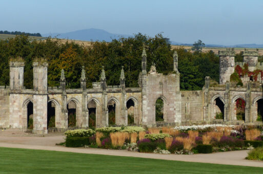 Lowther Castle Parterre West 17297