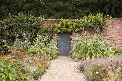 August side gate at Kelmarsh Hall