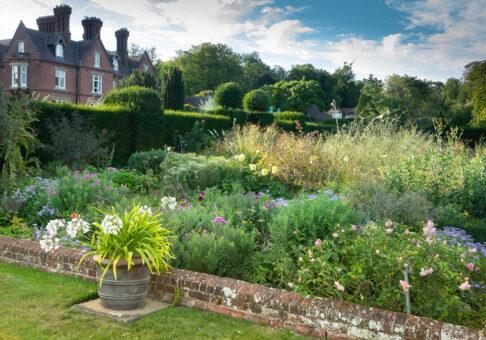 Doddington Place house view