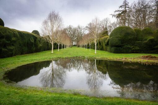 Doddington Place pond