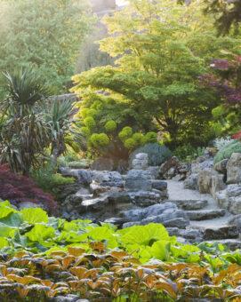 Doddington Place Garden walk