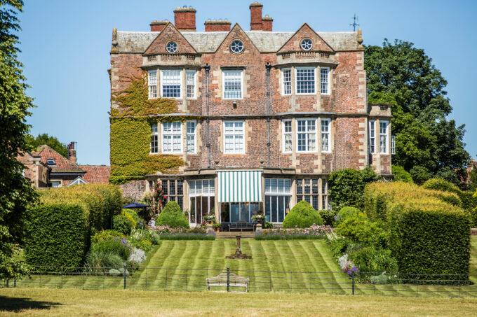 Goldsborough garden front