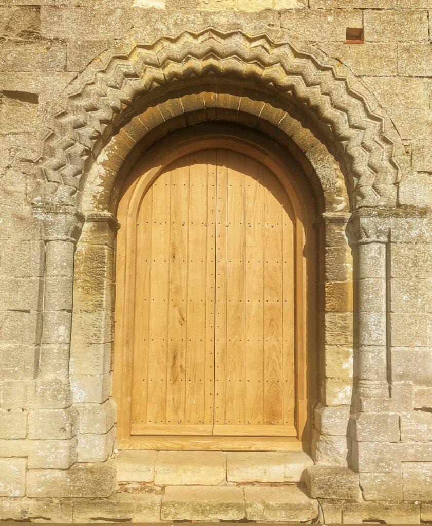Hedingham Castle new door
