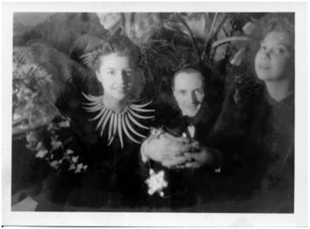 Ruth Ford, Edward James, and Leonor Fini, New York, late 1930s. Image courtesy of West Dean College of Arts and Conservation.