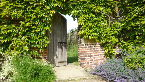 Walled Garden doorway credit Harewood House Trust