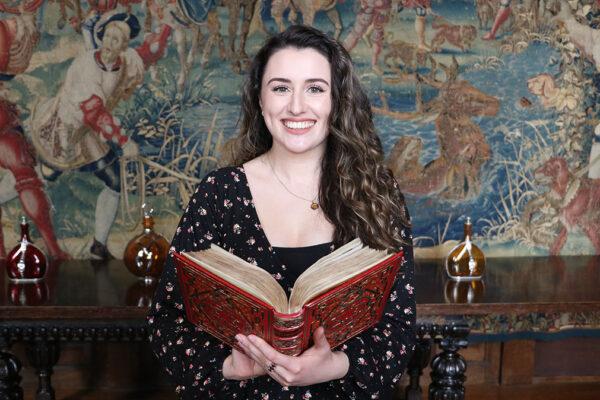 Anne Boleyn's prayerbook discovery at Hever Castle with Kate McCaffrey