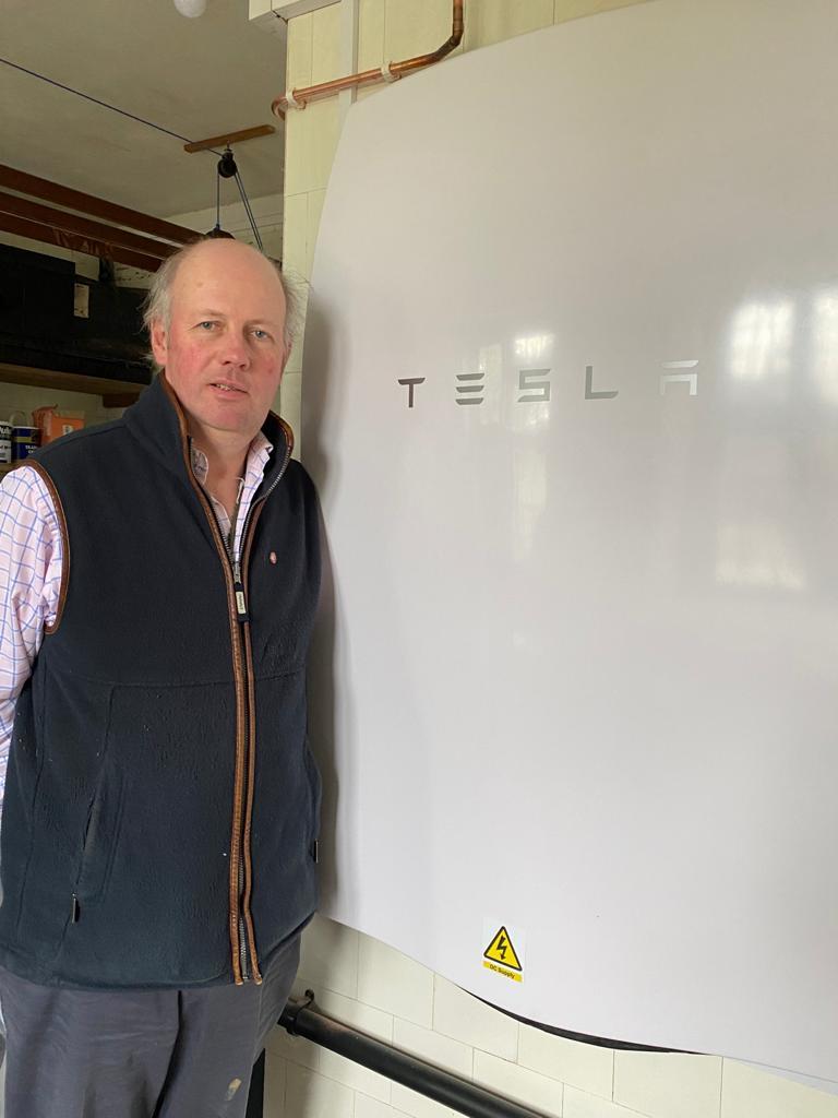 Tissington Tesla Battery