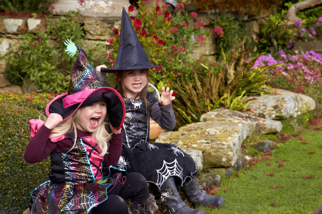 Hever Castle Halloween witches