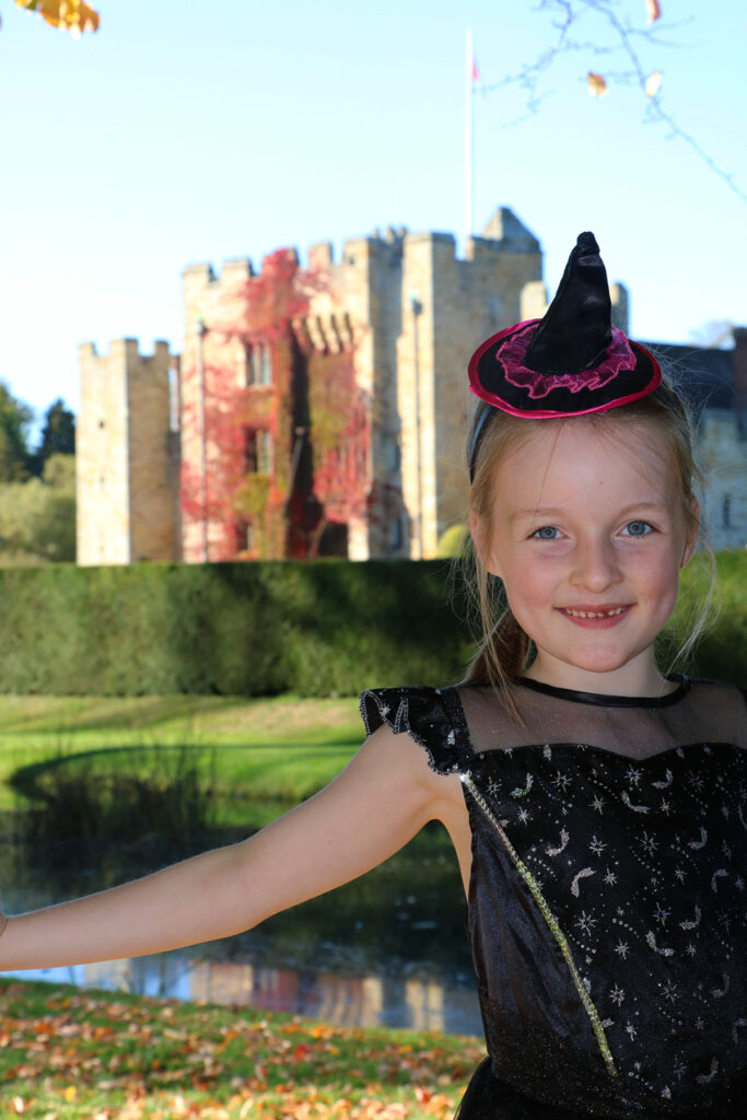 Hever Castle witch