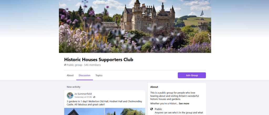 Historic Houses Supporters Club