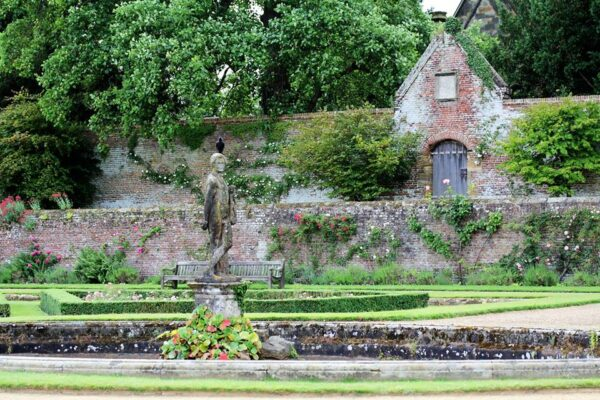 The Italian Garden at Penshurst Place