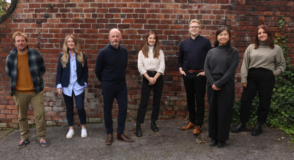 2. The team at Bauman Lyons Architects Ltd who have been selected to work on designing the new welcome block at Kiplin Hall and Gardens.