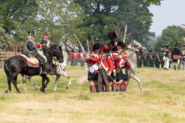 Hole Park Napoleonic War Battle re-enactment